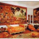 Hainaut Belgium Postcard Le Chateau de Boloeil Chambre d' Epinoy Tapestry