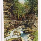 Watkins Glen New York Postcard Matchless Scene Curteich A-86556 1921