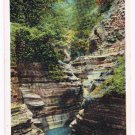Watkins Glen New York Postcard Upper Cavern Curteich A-91742 1922