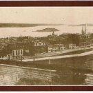 Nova Scotia Laminated Postcard RPPC View of Brunswick St & George's Island 1890s