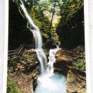 Tichnor Rainbow Falls In Flood Watkins Glen Postcard