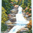 VINTAGE Buckhill Falls Pennsylvania Linen Postcard