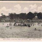 Cedar Harbour Ontario Postcard Bathing Beach Innisfil Park Lake Simcoe