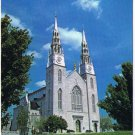 Ottawa Ontario Postcard Notre Dame Cathedral Basilica Cornerstone 1841