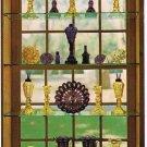 Boston Postcard Sandwich Glass Museum Amethyst Window