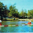 MacTier Ontario Postcard Lake Joseph Holiday Centre for the Blind Pedal Boating