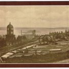 Nova Scotia Laminated Postcard RPPC View of Citadel Hill George's Island 1900