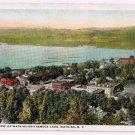 Watkins Glen New York Postcard Watkins Seneca Lake Curteich A-79396 1919