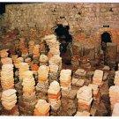 Bath England UK Postcard Roman Baths West Baths Hypocaust Room