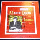 "Mario Lanza Sings Christmas Songs 10"" LP RCA Victor"