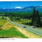 Courtney British Columbia Postcard Comox Glacier Scalloped Edge