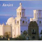 Arizona Postcard San Xavier Del Bac Mission Spanish Papago Indian Settlement