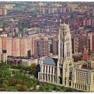 New York City Postcard Riverside Church and Grant's Tomb French Gothic