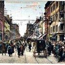 VINTAGE Toronto Ontario Postcard Yonge St Looking North From King 1909