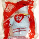 McDonalds 2004 TY Beanie Baby Big Red Shoe Bear # 10 Original Package NEW