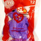 McDonalds 2004 TY Beanie Baby Grimace Bear # 12 Original Package NEW