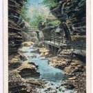 Watkins Glen New York Postcard Pool of the Nymphs Curteich A-52136 1913