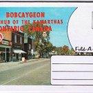 Bobcaygeon Ontario Fold-A-Letter Souvenir Postcard