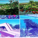 Spain Postcard Grand Canary Islands Multi View Hotel Maspalomas Oasis