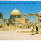 Israel Postcard Jerusalem Courtyard of the Dome of the Rock