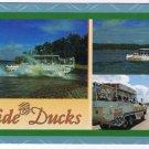 Missouri Postcard Branson Ride The Ducks Amphibious Vehicle Ozark Mountains