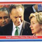 Enduring Freedom Picture Card #31 Rangel Schumer Hillary Clinton Bush Topps 2001