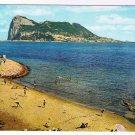 Gibralter Postcard Gibralter Rock from Beach