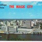 Florida Postcard Miami The Magic City Biscayne Boulevard