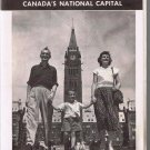 Vintage Travel Brochure 1958 Ottawa Tourist Map Canada's National Capital