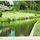 England Postcard Gibralter Kinver River Fishing
