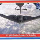 Enduring Freedom Picture Card #48 9-11 B-2 Spirit Bomber Refuels Topps 2001