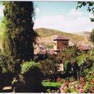 Spain Postcard Granada Alhambra Partal Gardens