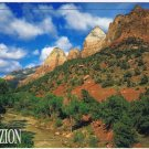 Utah Postcard Zion National Park Virgin River