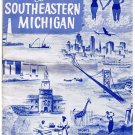 Vintage Travel Brochure 1955  Invitation To Southeastern Michigan