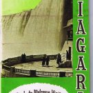 Vintage Travel Brochure 1950s Guide to Welcome Visitors to Niagara Falls Map