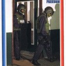 Enduring Freedom Picture Card #20 9-11 German Police Hamburg Topps 2001