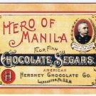 1995 Dart Hershey Chocolate Picture Card #22 Hero of Manila Chocolate Segars