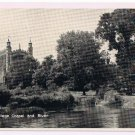 England Postcard Eton College Chapel and River