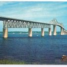 Rhode Island Postcard Jamestown Bridge Narragansett Bay
