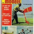 Flying Models Magazine Designs & Data Jan 1971 Skip-Jack Seaplane Skystreak