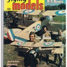 Flying Models Magazine Designs & Data Dec 1975 R/C Boats Sopwith Pup Bulgaria