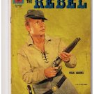 Dell Comic Book The Rebel 1207 Johnny Yuma's Journal Nick Adams VG/FN