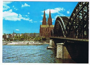 Germany Postcard Cologne Koln Am Rhein