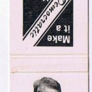 Matchbook Cover Ontario Liberal David Peterson