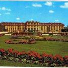 Vienna Austria Postcard Schonbrunn Castle and Flower Parterre