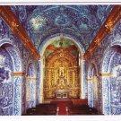 Portugal Postcard Algarve Almancil Blue Tiles Azulejos