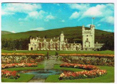 Scotland United Kingdom Postcards Balmoral Castle