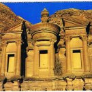 Jordan Postcard The Deir Largest Monument of Petra