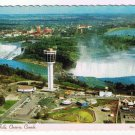 Niagara Falls Ontario Postcard Rainbow Bridge Carillon Tower