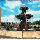 France Postcard Paris & Ses Merveilles Place De La Concorde Fountain